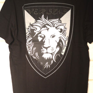 Versace Versus Lion T-shirt NWT Medium Black New